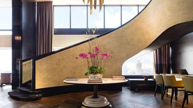 香港君悅酒店 Grand Hyatt Hong Kong | Delicious USA 海景客房 – Grand Hyatt Steakhouse美國滋味晚餐套餐 + 迷你威士忌 + 自助早餐