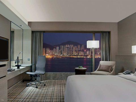 【酒店住宿餐飲禮遇】千禧新世界香港酒店 New World Millennium Hong Kong Hotel|豪華海景住宿連自助早餐、精緻下午茶